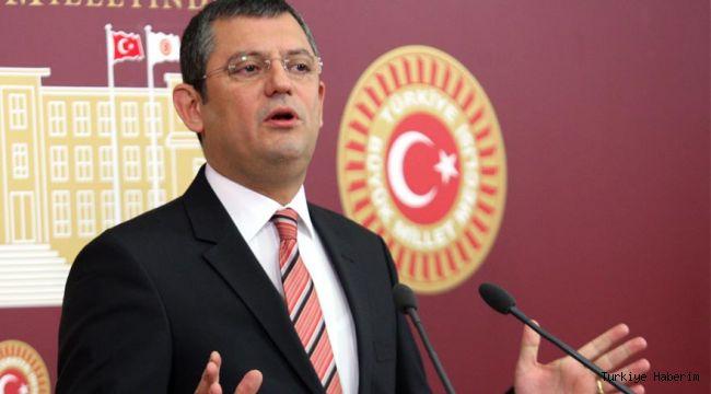 CHP'li Özel: