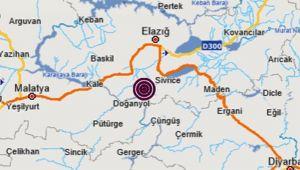 Elazığ'da 4.0 büyüklüğünde deprem yine korkuttu