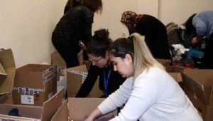 Kuşadası'ndan Elazığ ve Malatya'ya yardım kampanyası