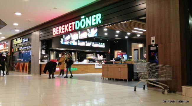 Konya'da Helal gıda sertifikalı ''Bereket Döner'' Novaland AVM' de açıldı..