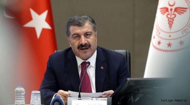 Sağlık Bakanı Fahrettin Koca'dan önemli açıklamalar .